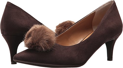 chocolate brown pumps - 5