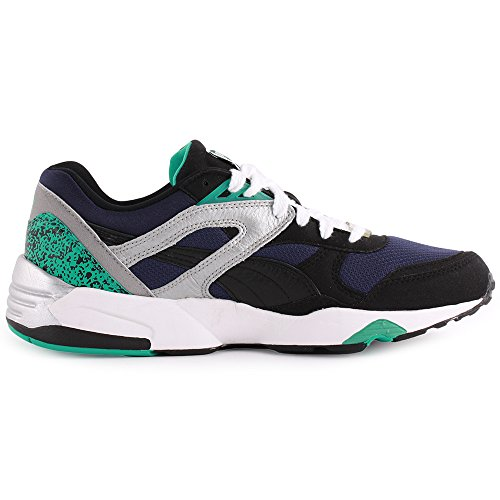 Puma Trinomic R698 Black Pool Blue Peacoat Schwarz