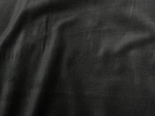 - SyFabrics 100% Cotton Velvet Velveteen Fabric 56 Inches Wide (Charcoal Gray)