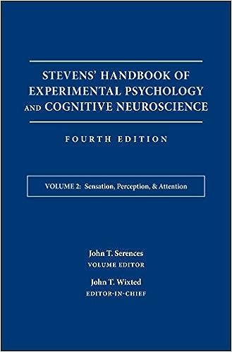 amazon stevens handbook of experimental psychology and cognitive