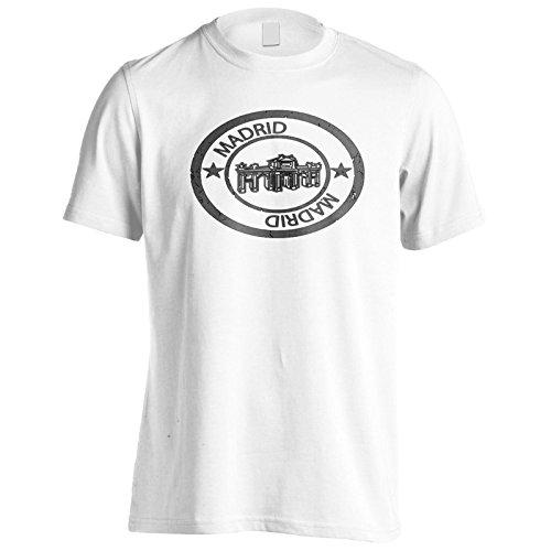 New Spanien Madrid Stempel Herren T-Shirt m272m