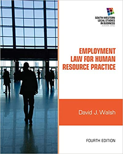 Employment Law for Human Resource Practice (South-western