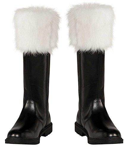Rubie's Costume Co Adult Santa Boots, Multi, One Size -