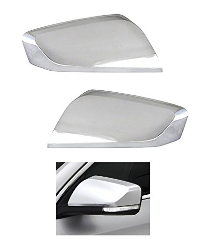 MaxMate Fit 2014-2016 Chevrolet Impala (Not For Limited Model) Chrome Top Half Mirror Cover - Aftermarket Impala Mirror