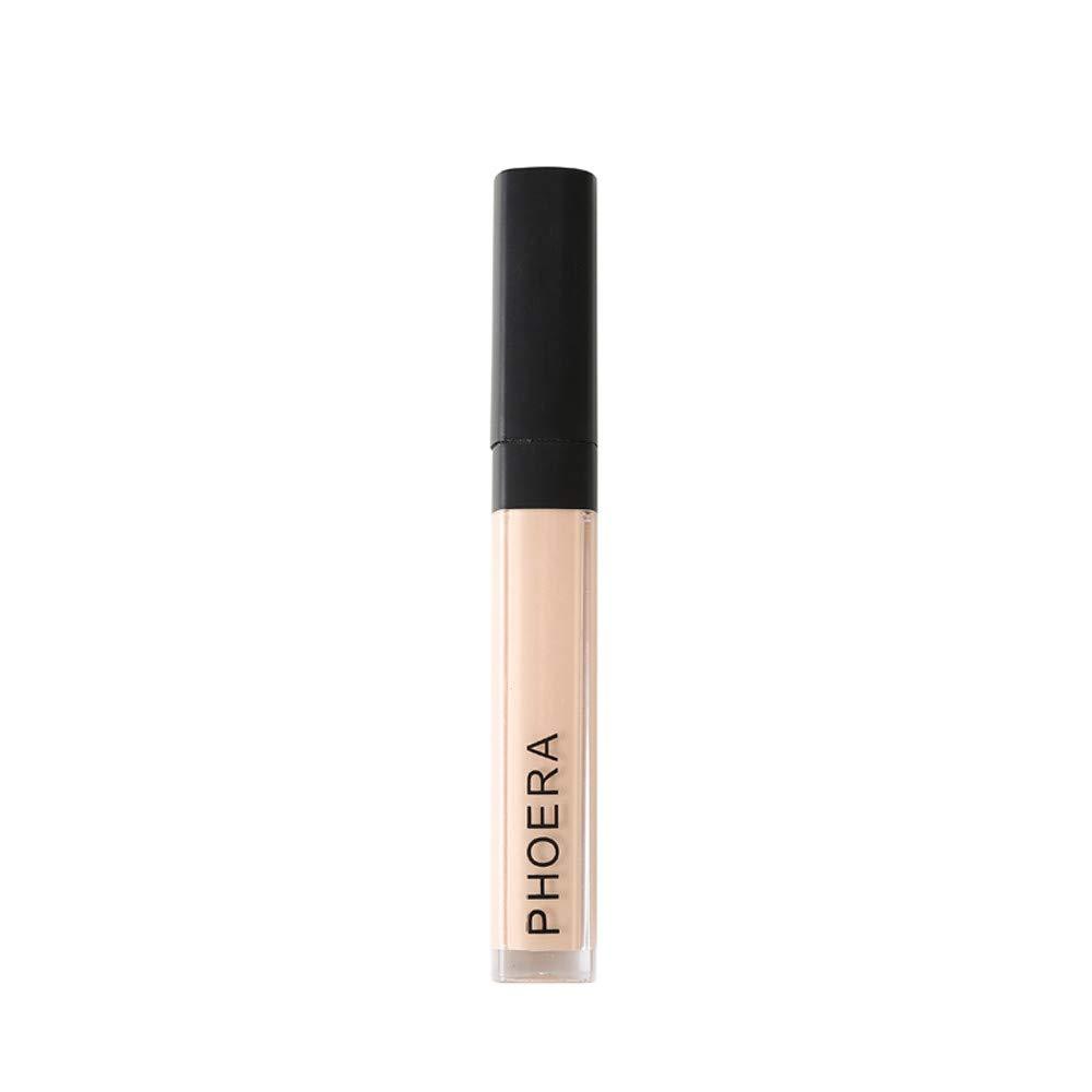 CapsA New Fashion Makeup Concealer Liquid Moisturizer Conceal HD High Definition Foundation (B)