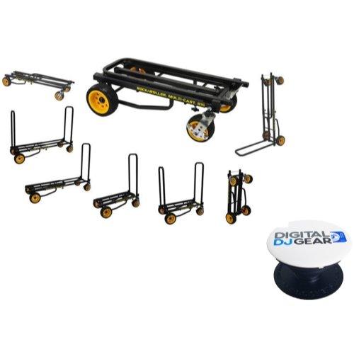 Rock n Roller RocknRoller Multi-Cart R16RT Ground Glider Max W/ FREE POP-SOCKET