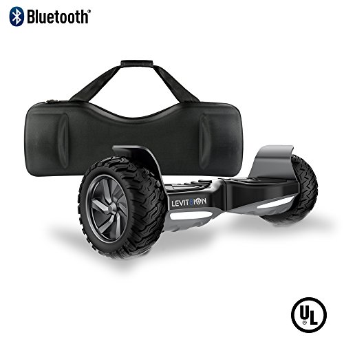Levit8ion Latest 2018 XTREME SE HUMMER 8.5' Off Road UL 2272 Hoverboard 700w Dual Motor All Terrain Tires, Metal Fenders, LED Lights, Bluetooth, Li-Ion Battery, Free Carrying Case