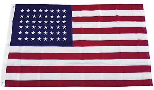 3X5 Ft Old Glory Star Spangled American Flag Usa Embroidered Nylon 48 Stars
