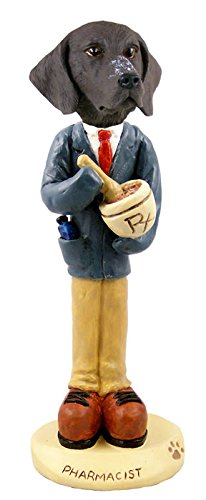 (German Short Haired Pointer Pharmacist Doogie Collectable Figurine)
