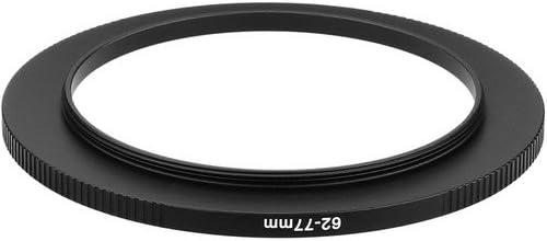 Sensei PRO 62mm Lens to 77mm Filter Aluminum Step-Up Ring 4 Pack