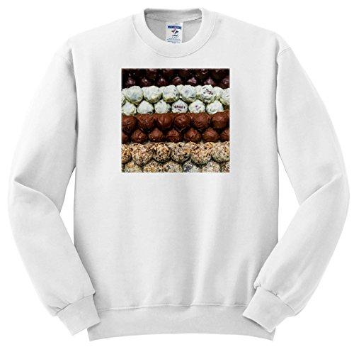 Danita Delimont - Food - Belgium, Bruges. Truffles at a Belgian Chocolate Shop - Sweatshirts - Youth Sweatshirt Large(14-16) (16 Belgian Chocolate)