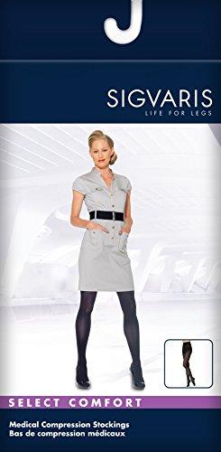 SIGVARIS Women's SELECT COMFORT 860 Closed-Toe Pantyhose Medical Hose 30-40mmHg by SIGVARIS (Image #1)
