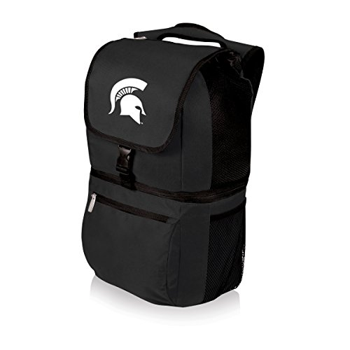 Backpack Michigan State Picnic (NCAA Michigan State Spartans Zuma Insulated Cooler Backpack, Black)