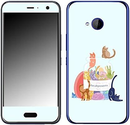 DISAGU SF de 108506 _ 1086 Diseño Skin para HTC U11 Life – Diseño antidep ressants: Amazon.es: Electrónica