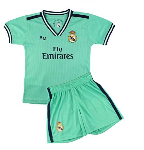 Kit Camiseta y Pantalón Infantil Tercera Equipación – Real Madrid – Réplica Autorizada