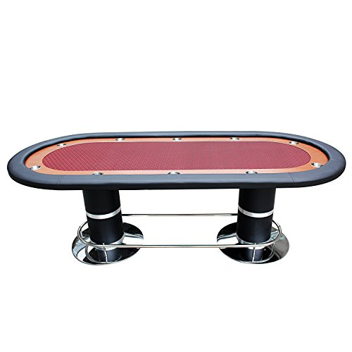 Ids professional solid double base poker table 10 players for 10 player poker table top