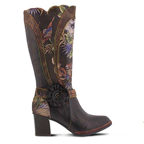 L`artiste Kvinnor Savannah Boot Brun Multi
