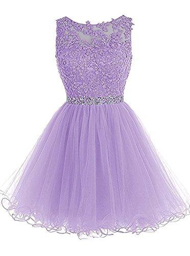 para Lilac Vestido trapecio Topkleider mujer wFgaFE