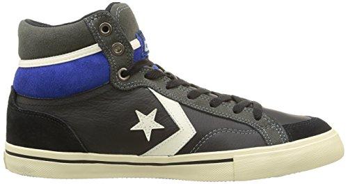 unisex Blaze Leather Black charcoal Hi Converse Sneaker suede Adulto Pro UYq5UTntf