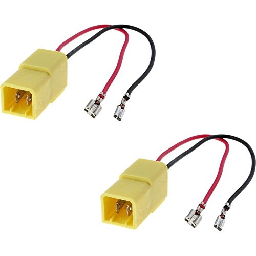 sound-way 2 X Cables adaptateurs fiche pour Enceintes Haut-parleurs pour Alfa Romeo, Citroë n, Fiat, Lancia, Peugeot AH-1 Citroën