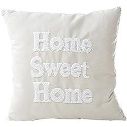 Gotd Pastel Home Decorative Pillow Covers Throw Pillow Case Cushion (White)
