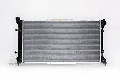 (Radiator - Pacific Best Inc For/Fit 1839 95-99 Subaru Legacy/Outback Automatic L4 2.2L May'97-99 2.5L Plastic Tank Aluminum Core 1-Row )