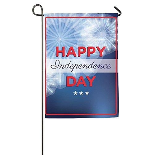 WYIZYIQA Happy Independence Day Garden Flag Yard Decorations