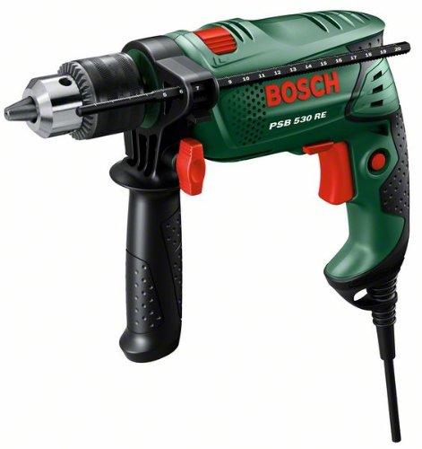 Bosch Perceuse à percussion 'Easy' PSB 530 RE avec poignée supplémentaire (sans bague de friction) 0603127005