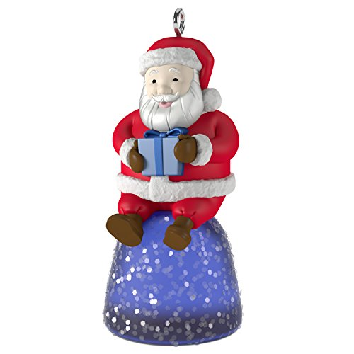 Hallmark Keepsake 2017 Sweet Li'l Santa Gumdrop Mini Christmas Ornament