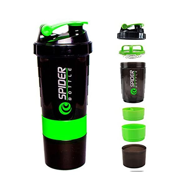 Worthy Shoppee Red Spider Protein Shaker Bottle for Gym 2