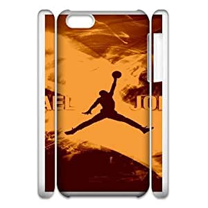 iphone 5C 3D Phone Case Jordan logo F6599003