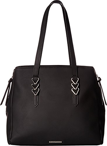 Rampage Womens Triangle Ring Tote Black One Size by Rampage