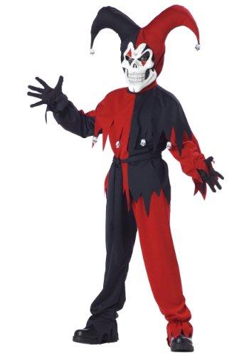 [California Costumes Evil Jester Costume X-small (4-6)] (Evil Jester Child Costume)