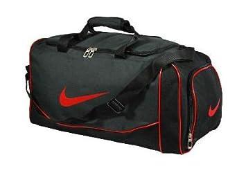 03b36ddac0189 Nike Sporttasche Fitnesstasche Medium Unisex klein BA2629 schwarz weiß
