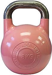 Ader Pro-Grade International Kettlebell- (8 Kg)