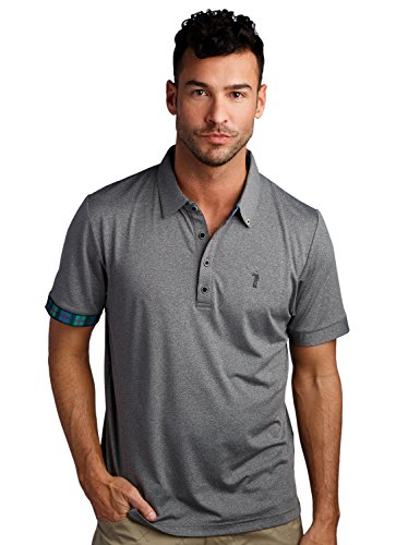 Murray Classic Polo L Charcoal ()