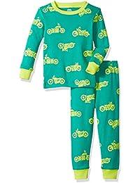 Baby Long-Sleeve Tight-fit 2-Piece Pajama Set