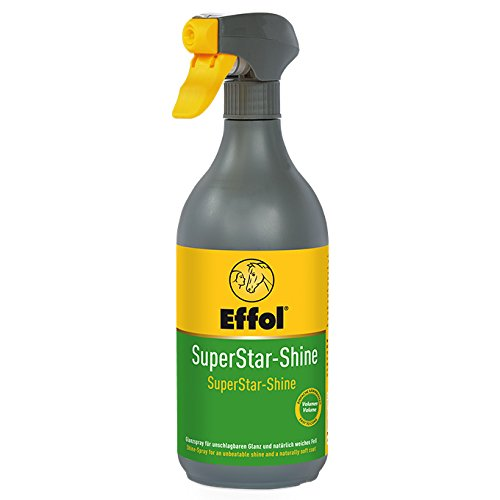 Effol Superstar Shine Spray, Mane and Tail Detangler, 25 (Effol Horse)