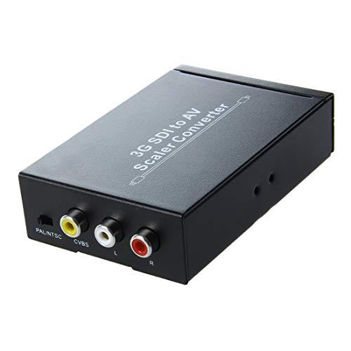 Halica HDV-S007 Mini SD-SDI HD-SDI 3G-SDI to AV Video Converter Scaler 2.97Gbit Camera to CRT HDTV