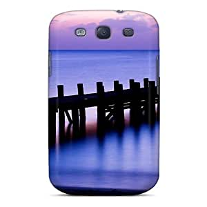 High Quality Pier With Lights Case For Galaxy S3 / Perfect Case