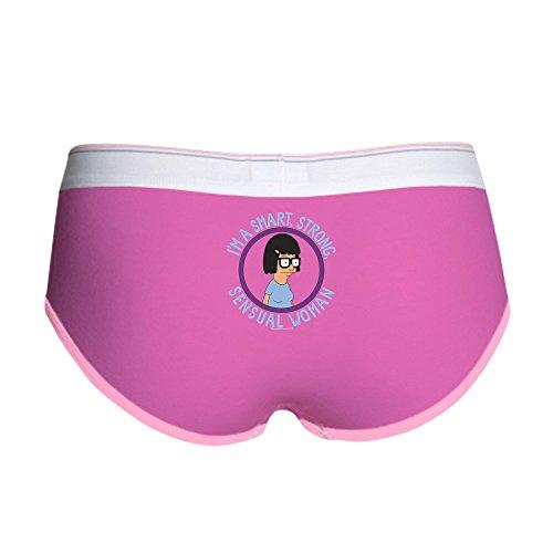 CafePress Bob's Burgers Tina Sensual Woman Women's Boy Brief, Boyshort Panty Underwear with Novelty Design Fuchsia/Pink