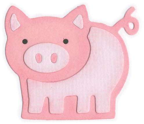 KS-0070 Pig Shape DoubleKutz (Shapes Bosskut)