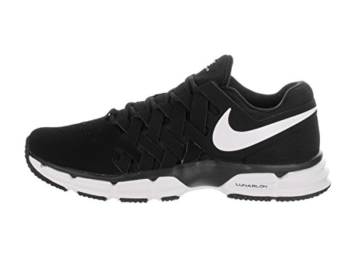 Zapatillas de entrenamiento Nike Lunar Fingertrap Tr Black / White / Black para hombre 11 hombres US