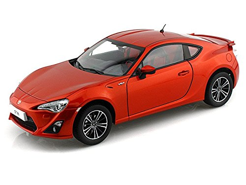 2013 Toyota GT86 Limited LHD 1/18 Copper Orange