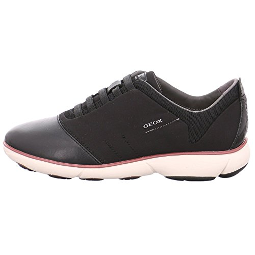 Geox Dame D Tågen G Sneakers Sort lJ9Tq3