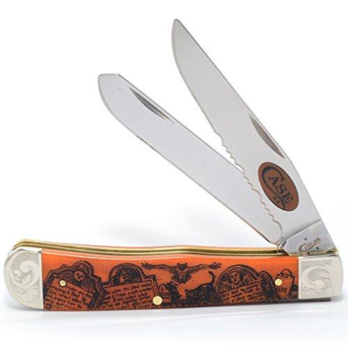 CASE XX WR Pocket Knife 82422 Ns 2017 Linda Karst Halloween Trapper]()
