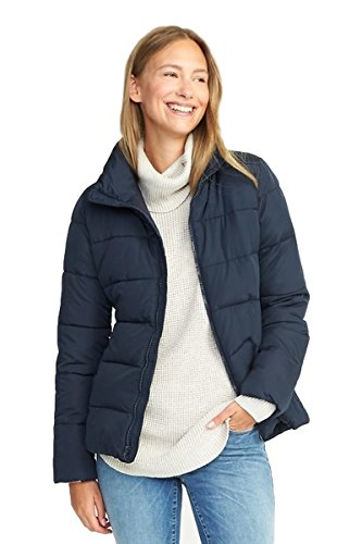 Old Navy End Of Winter Sale Frost-Free Jacket For Women-Retail 49.99-Ours $39.99 (Medium-Navy Captain)