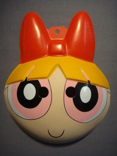 The Powerpuff Girls Blossom PVC Mask Child Size Rubies Halloween Dress Up (Blossom Powerpuff Girl Costume)
