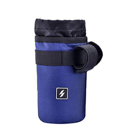 MChoice❤️Bicycle Water Bottle Holder Pouch Road Bike Cycling Insulated Kettle Bag Cage (Blue)