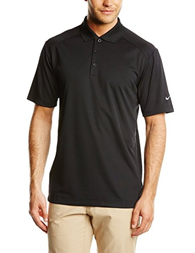 Nike Golf Dri-Fit Victory Polo, Black, Large